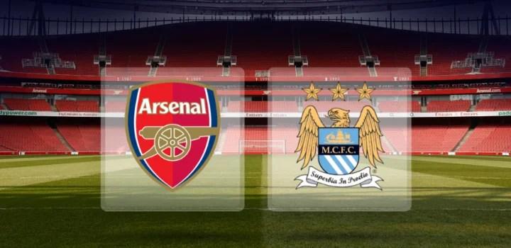 Image result for Arsenal vs Manchester City