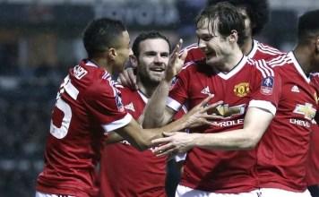 Derby County v Manchester United