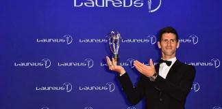 Former f1 driver Nikki Lauda was awarded the Laureus Lifetime Achievement award