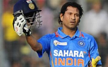 Sachin's No 10 Jersey