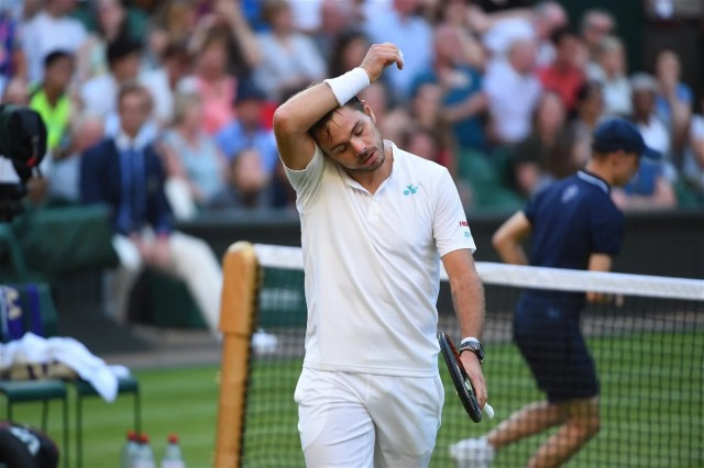 Wimbledon round one and round two thrills and spills