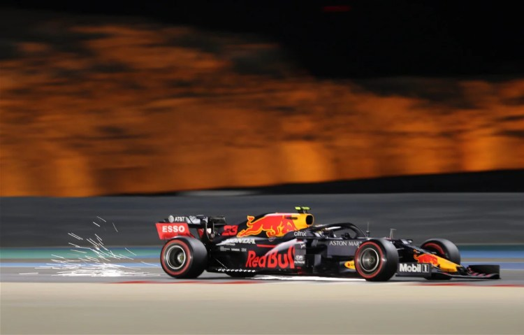 """It's A Significant Amount"""" – Red Bull Boss Horner Left Frustrated after Alex  Albon's Bahrain GP Practice Crash - EssentiallySports"""