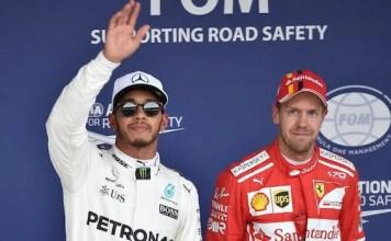 Hamilton and Vettel Q3 Result