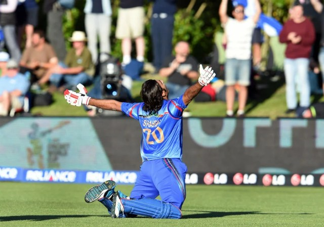 Shapoor Zadran Afghanistan Cricketer