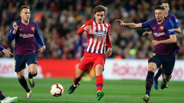 Atletico Madrid Release Statement on Antoine Griezmann and Barcelona - EssentiallySports