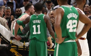 Gordon Hayward suffers gruesome leg injury on opening night