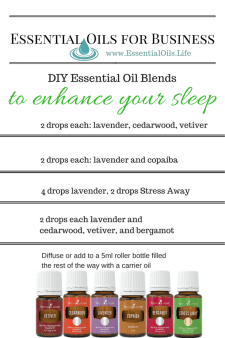 Enhance your sleep with these DIY essential oil blends