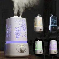 Signstek 1500ML 1.5L LED Ultrasonic Aroma Diffuser Humidifier Aromatherapy Air Purifier Mist with 7 Auto Colors Changings and Mist Adjustment Mode (Dragonfly)