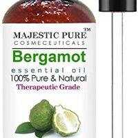 Majestic Pure Bergamot Essential Oil, Therapeutic Grade, 4 fl. oz.