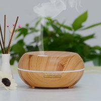 InnoGear 200ml Aromatherapy Essential Oil Diffuser- Wood Grain