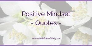 Positive Mindset – Quotes