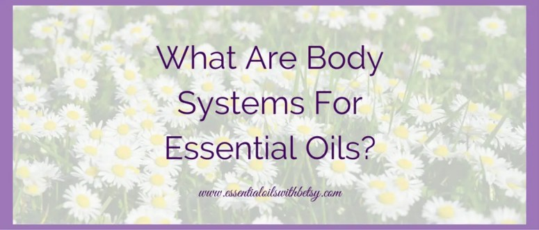 What Are Body Systems For Essential Oils? Essential oils are a wonderful way to help ourselves maintain great health. On this website, you will find a multitude of ideas and essential oil recipes to try.