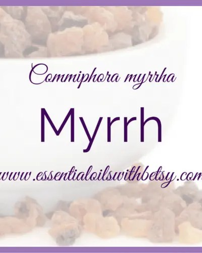 SUGGESTED WAYS TO USE MYRRH ESSENTIAL OIL FROM DOTERRA: • Add one drop to your daily moisturizer to help promote youthful-looking skin. • Diffuse when tension levels are high. • Diffuse during the holidays to maintain peaceful feelings throughout your home. • Promotes emotional balance and well-being • Myrrh essential oil soothes the skin; promotes a smooth, youthful- looking complexion. • Powerful cleansing properties, especially for the mouth and throat. • Soothing to the skin; promotes a smooth, youthful-looking complexion. • Promotes emotional balance and well-being. • Add one to two drops to toothpaste for added cleansing benefits. • Diffuse to help promote awareness and uplift your mood. • Add to your lotion/moisturizer to help reduce the appearance of fine lines and wrinkles. • Add one to two drops to one-fourth cup of water with a little agave or honey to help ease the stomach.* • Put one drop in two ounces of water and gargle for an effective mouth rinse.