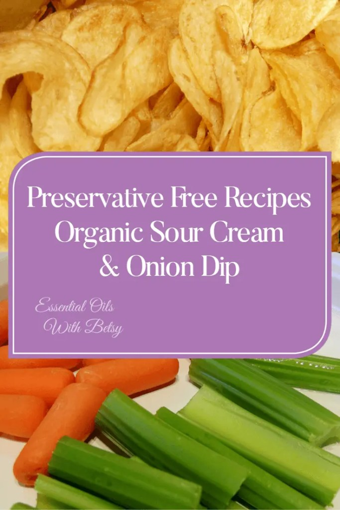 Preservative Free Recipes Organic Sour Cream And Onion Dip - This is so amazing whether you use veggies or chips! Includes a how to video along with the organic and preservative free recipe!