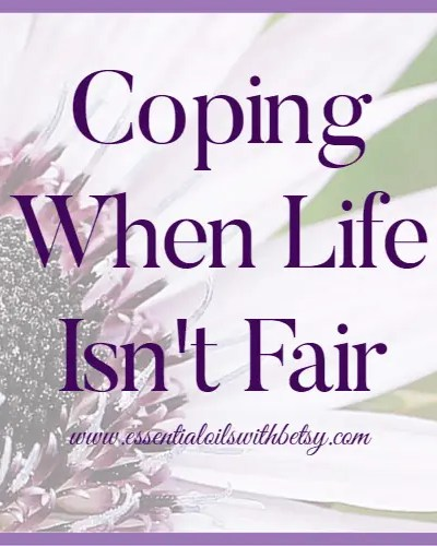 Coping when life isn't fair... How do we do that? Everyone has something they wish they could change about their life. Everyone has something that is a really big hurt, or burden, or impossible struggle. What are some ways we can find strength and learn healthy ways of coping when life isn't fair? Here are some ideas that help me.
