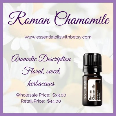 Doterra Roman Chamomile Essential Oil Essential Oils