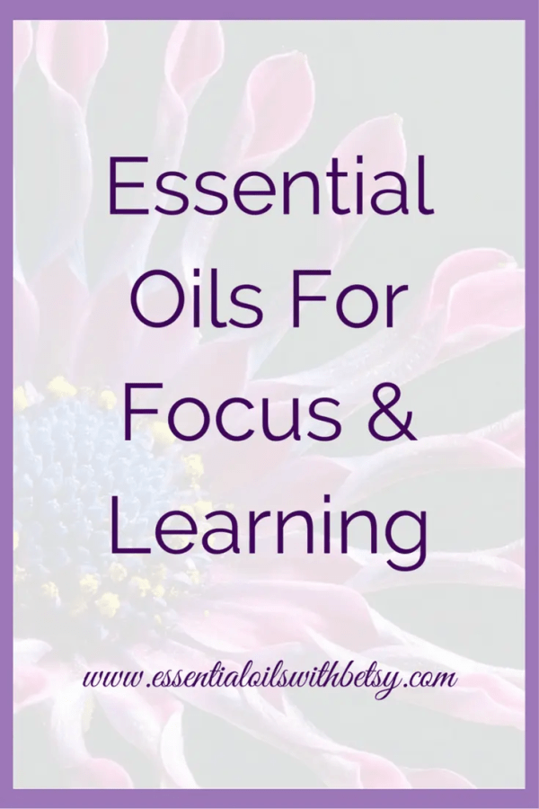 Essential Oils For Focus & Learning To create your own learning blend, just take into account the properties of each oil and the desired effect. You could think about oils such as Rosemary for memory, Peppermint for alertness, and so on. Customize and tailor it to your individual needs. The following oils are fantastic for brain health, so I would add at least one of these into each learning blend that you create. Frankincense Sandalwood DDR Prime (Cellular Blend) by doTERRA In Tune (Focus Blend) by doTERRA The following essential oils are good for alertness, focus, and promote feelings of positivity. Wild Orange Lemon Rosemary (also promotes healthy memory) The following oils promote feelings of alertness. They are also helpful with keeping moods upbeat. This may be useful when helping reluctant children find excitement in learning. Peppermint Spearmint Lemon Lime Rosemary