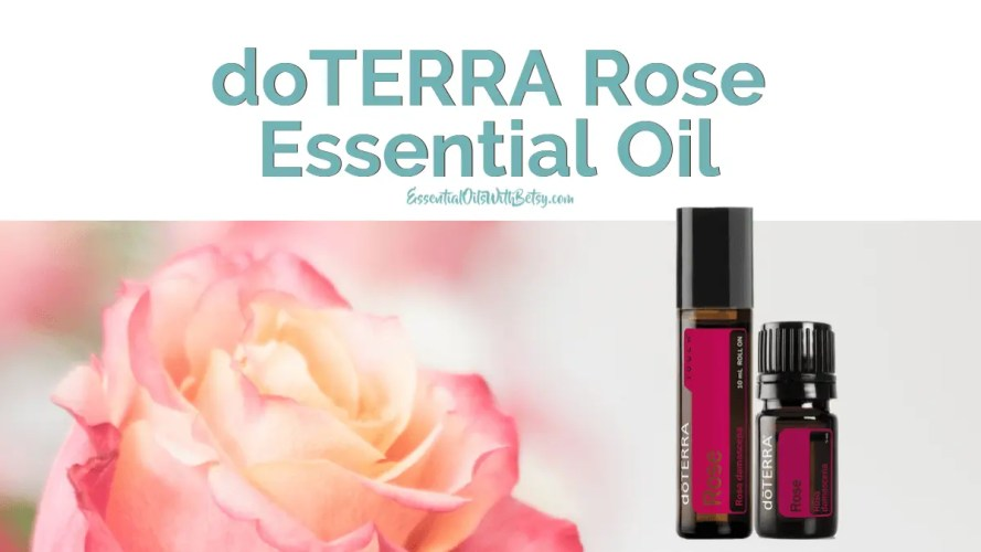 doTERRA Rose Essential Oil Uses & Availability