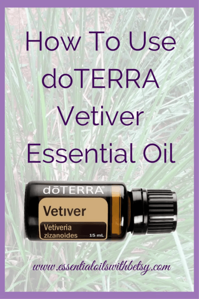 doTERRA Vetiver Essential Oil Uses How Do I Use Vetiver Oil? How do I use Vetiver oil? I love using my doTERRA Vetiver for calming and relaxation. I also use it internally when I need some sleep. If I am having head tension, I take a few drops of Vetiver in a veggie capsule and swallow. Within a short time, it helps me relax and sleep. Aromatically, Vetiver has an earthy aroma which is grounding and balancing. doTERRA Suggested Uses For Vetiver doTERRA Suggested uses for Vetiver include: Add 1–2 drops to tea or hot drinks during winter time to promote immune-supporting properties*. Use as a massage oil to calm emotions. Take a warm bath with a few drops of Vetiver essential oil for deep relaxation. Diffuse with Lavender, doTERRA Serenity, or doTERRA Balance to calm emotions and lessen stress. Use a toothpick to help get the desired amount out of the container if Vetiver is too thick to get out of the bottle. A little goes a long way.