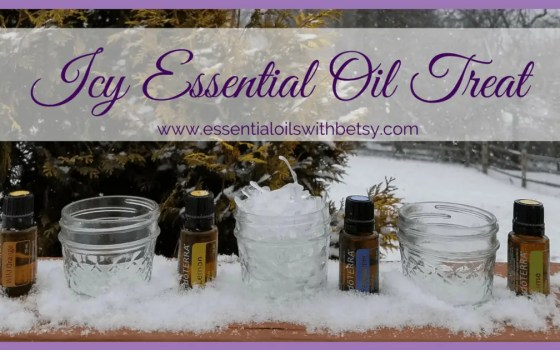 Icy Essential Oil Treat | Icy Essential Oil Treat During the winter, it can be a challenge to entertain children (and adults!). Especially when it's snowy and cold outside. Why not try out this icy essential oil treat for the whole family to enjoy? You can make it in a very short time. And it has the health benefits of the essential oils. That sounds like winning to me!