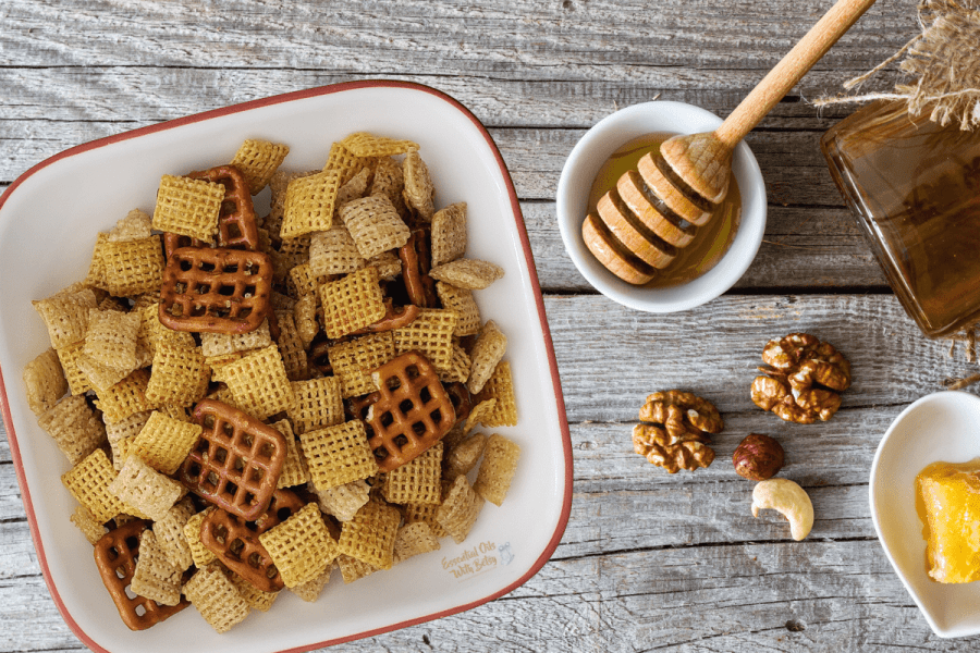 Honey Glazed Snack Mix Recipe