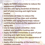 How To Use doTERRA Immortelle Essential Oil Blend