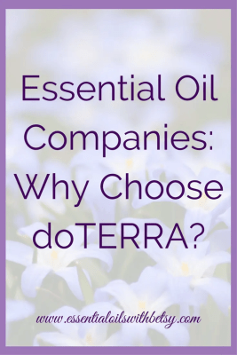 """Essential Oil Companies: Why doTERRA? Are you looking into essential oil companies? """"Why doTERRA?"""" may be a question you are asking. Today I'm sharing the reasons I chose doTERRA as my sole essential oil supplier. Over four years later, I'm even more impressed with doTERRA. I have proven the purity and potency of these oils. Consistent, effective, and safe results. Every bottle of pure doTERRA oil, every drop! Why Buy doTERRA Oils? When I was asking myself """"Why doTERRA?"""", three strong reasons that stood out. doTERRA's sourcing practices, doTERRA's testing practices, and the transparency around both."""