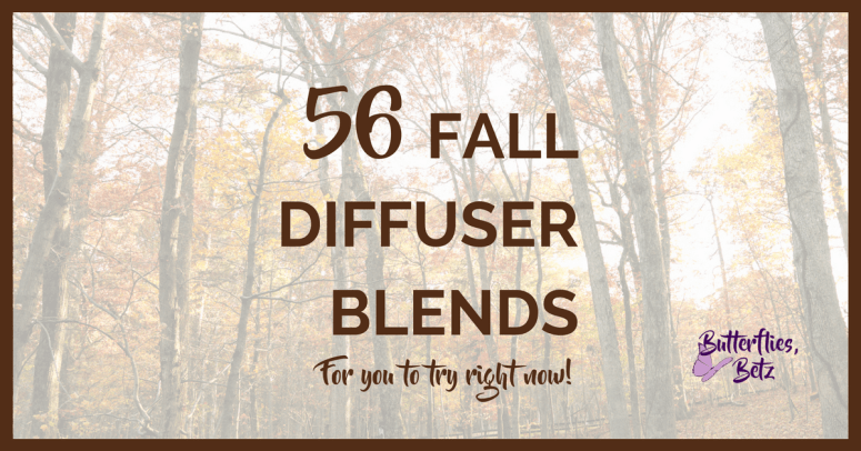 56 Fall Essential Oil Diffuser Blends To Try Right Now