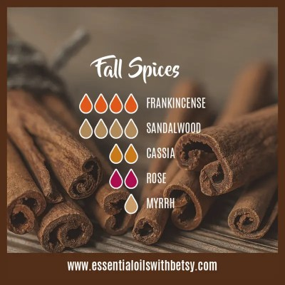 Fall Spices Oil Blend For Diffuser Frankincense, Sandalwood, Cassia, Rose, Myrhh
