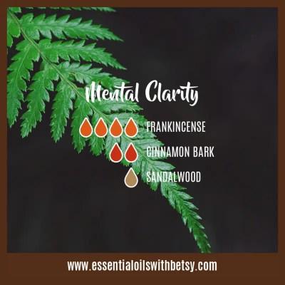 Oil Diffuser Blend for Mental Clarity: Frankincense, Cinnamon, Sandalwood