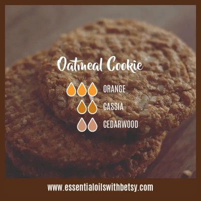 Oatmeal Cookie Diffuser Blend: Orange, Cassia, Cedarwood