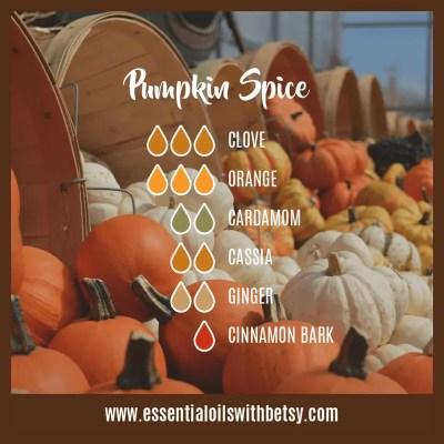 Pumpkin Spice Diffuser Blend For Fall: Clove, Orange, Cardamom, Cassia, Cinnamon