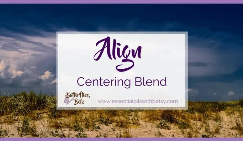 doTERRA Align Centering Blend