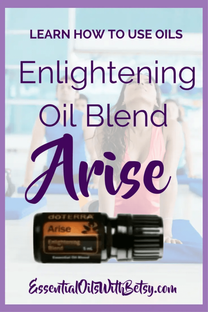 doTERRA Arise Enlightening Blend There were several exciting announcements from the doTERRA 2017 convention today! One announcement was the release of new essential oils and new doTERRA blends. I am excited about Arise essential oil blend. Here are some ways to use the new doTERRA blend Arise. I have a feeling that I will enjoy doTERRA Arise Enlightening blend. Are you looking forward to tryingdoTERRA Enlightening blend? Arise Is ThedoTERRA Enlightening Blend