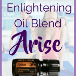 doTERRA Arise Enlightening Blend There were several exciting announcements from the doTERRA 2017 convention today!  One announcement was the release of new essential oils and new doTERRA blends.  I am excited about Arise essential oil blend.  Here are some ways to use the new doTERRA blend Arise.  I have a feeling that I will enjoy doTERRA Arise Enlightening blend.  Are you looking forward to trying doTERRA Enlightening blend? Arise Is The doTERRA Enlightening Blend