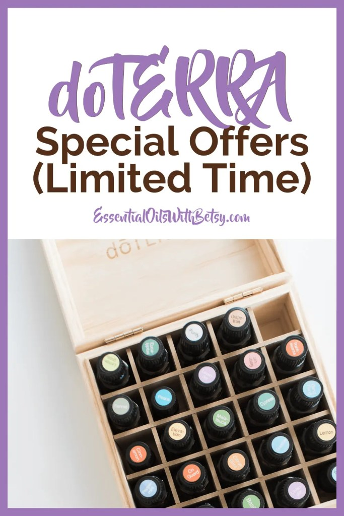 doTERRA monthly specials - special offers for the month sales doTERRA promotions - doTERRA consultant