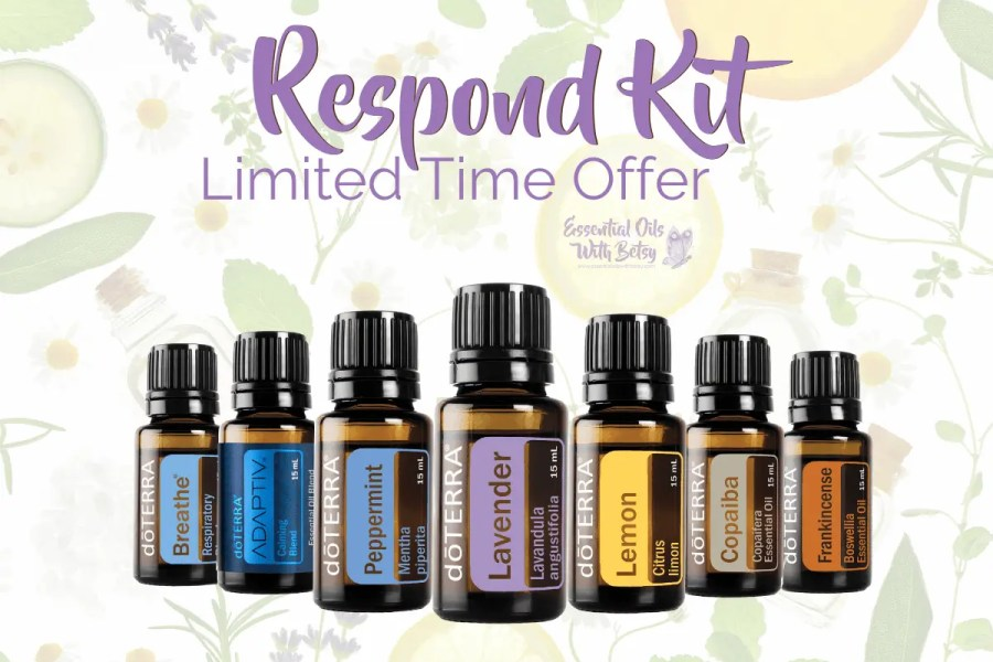 BUY DOTERRA RESPOND KIT - limited time special offer May 2020