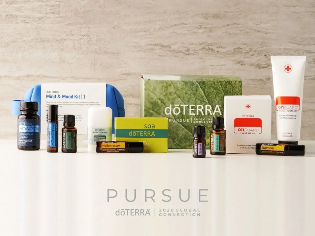 doTERRA Pursue 2020 Convention Kit - New products