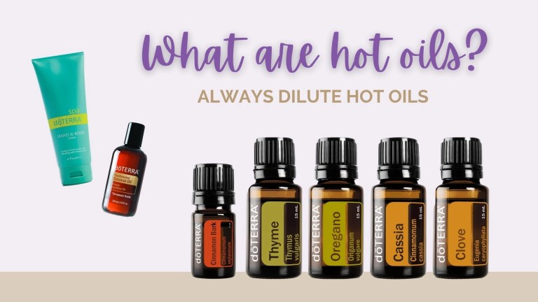 What Are Hot Essential Oils?