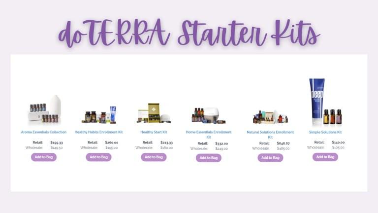 doTERRA Essential Oil Starter Kits