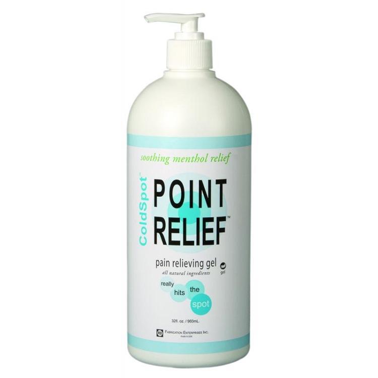 Point Relief Coldspot Pain Relief Gel Pump, 32 Oz Bottle