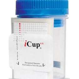 ICup Drug Abuse Test, 10 Drug Panel, BOX OF 25
