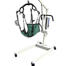 Bariatric Patient Lift 600 Lbs Electric Battery Powered