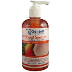 Instant Hand Sanitizer 8oz Pump Bottle,Mango,CASE OF 12