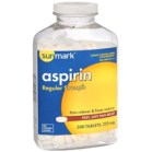 Pain Relief Asprin 325mg Tablet, 100 TABLET PER BOTTLE
