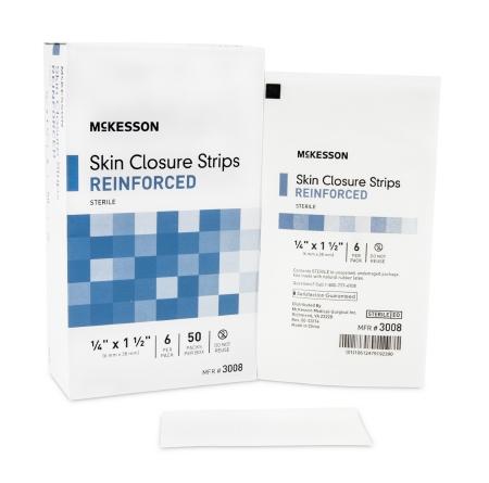 1/4″x 1 1/2″ Reinforced Skin Closure Strip, BOX OF 300
