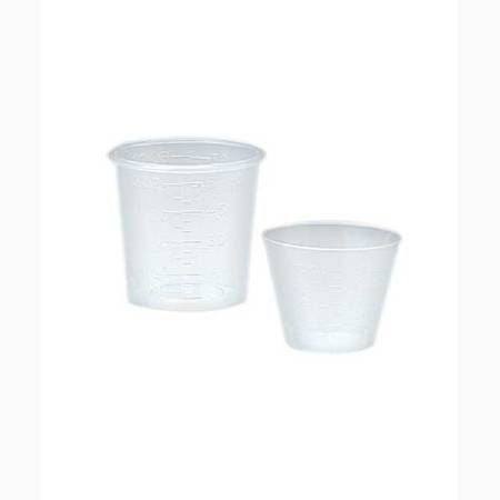 1 Oz Plastic Medicine Cup, CASE OF 5000