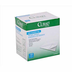 CURAD Non-Adherent Gauze Pad,3″x4″,Sterile,BOX OF 100