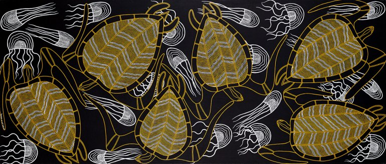 Billy Doolan: Patterns of Life - Leatherback Turtles and Jellyfish, 2005