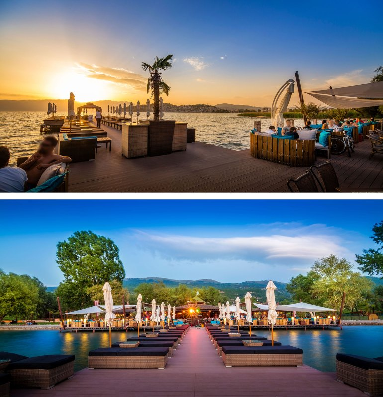 Cuba Libre Beach Club, Lake Ohrid, Macedonia